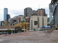 Fed Square and surrounding buildings