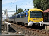 heavy rail train in Melbourne