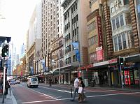 George Street in the CBD