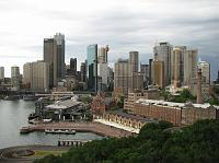 Sydney CBD from bridge