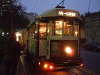M-Line Trolley in Dallas