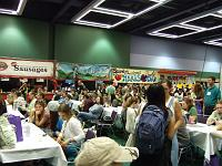 food court at Green Festival