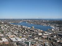 Looking northeast toward Lake Union