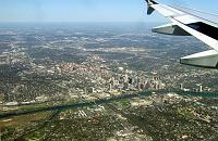 Austin as seen from the plane