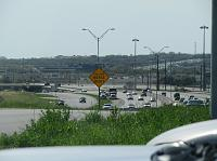 Texas highway in Austin