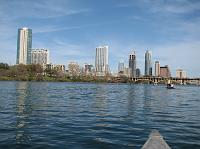 Lady Bird Lake & skyline