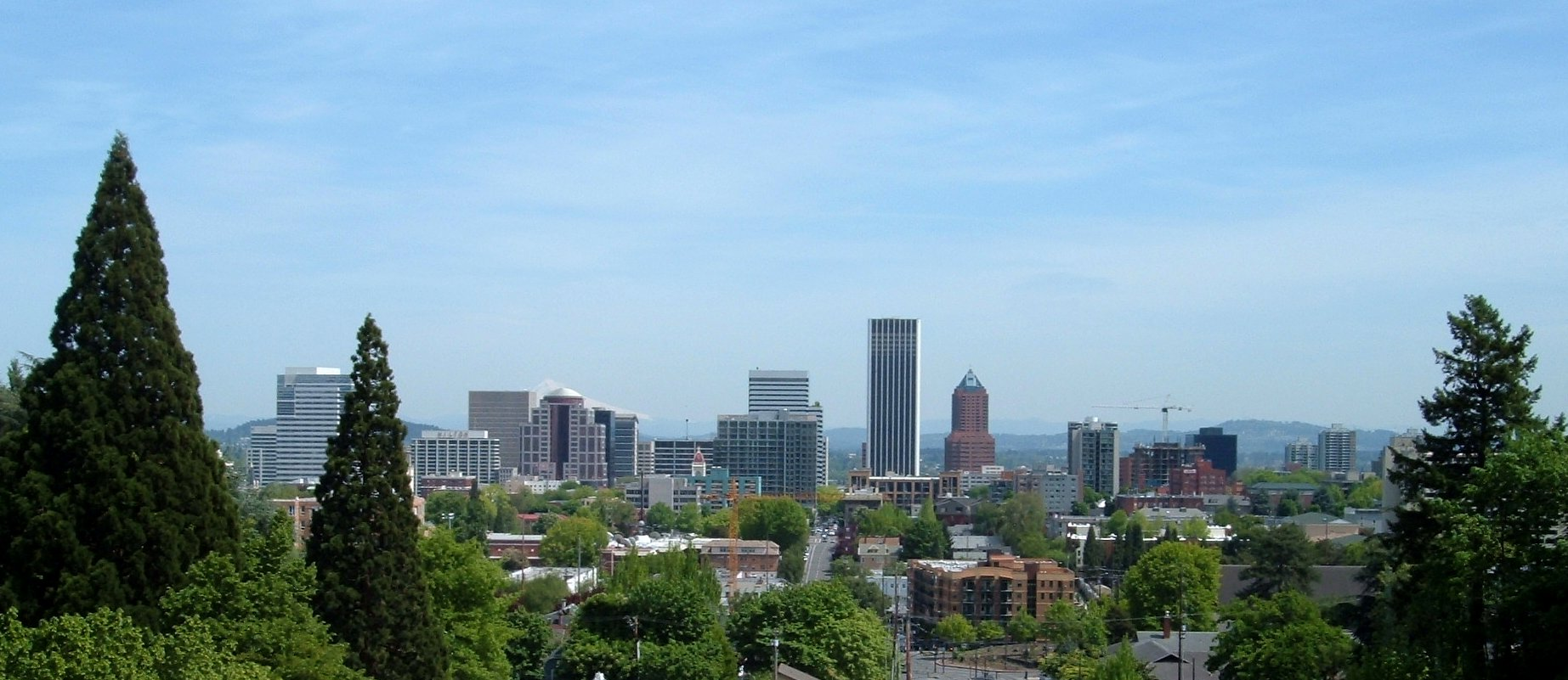 Troy 39 s photos city skylines downtown 12999 portland for Us city skylines photos